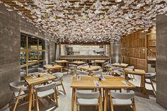 Nozomi Sushi by Masquespacio #interior #minimalist #restaurant