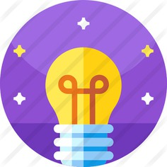 See more icon inspiration related to invention, idea, electronics, electricity, light bulb, illumination, light and technology on Flaticon.