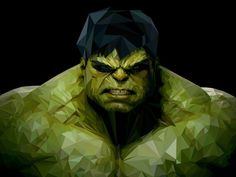 Hulk #hulk #triangulation #triangles