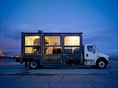 del popolo: mobile pizzeria #container #mobile #pizza