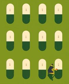 Purdue University | the opioid epidemic #illustration *Society of Illustrators 61 *Communication Arts 60