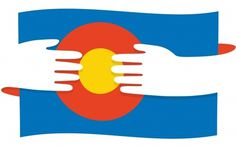 Main : #flag #hug #colorado