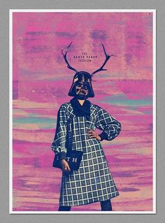 Darth Fashion on the Behance Network #darth #sith #pink #wars #vader #star #poster #fashion