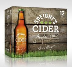 Speight's Cider Packaging #packaging #beer #label #bottle
