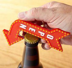 Open Here Bottle Opener #tech #flow #gadget #gift #ideas #cool