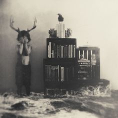 Ordinary Fox - Conor Keller Photography #antlers #white #water #fox #boy #ordinary #books #black #wave #photography #and #keller #splash #conor