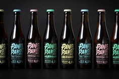 PangPang Brewery on Behance #beer