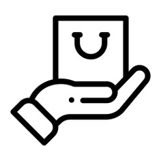 See more icon inspiration related to hand, hands and gestures, commerce and shopping, shopping bag, purchase, sales, buying, commerce and shopping on Flaticon.