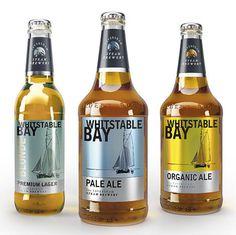 Whitstable Bay Bottles #beer #label #bottle