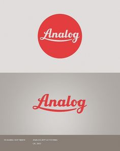 Selection of logos from 2010-2011 on the Behance Network #logo #red #analog #branding