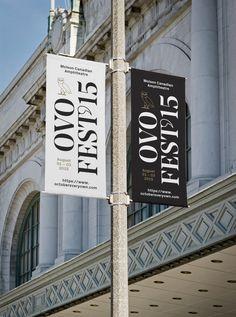 #banner #signage #typography #type #print #julestardy #ovo #festival