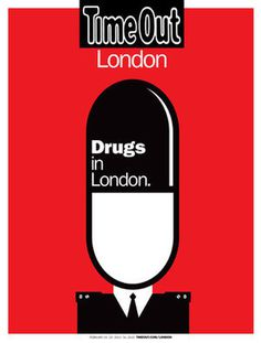 Noma Bar - Drugs in London