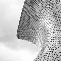 Wave... | Flickr Photo Sharing! #silver #facade #hexagon #wave