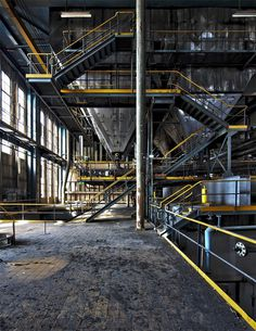 Power Station, a #series of #photographs of an #abandoned #power station by Spanish photographer #Cesar Azcarate.