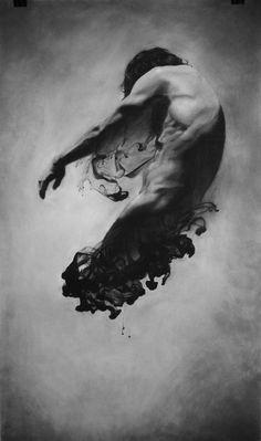 Diffusion Self Portrait by James Linkous