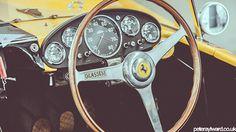Silverstone Classic 2014 on Behance #steering wheel #vintage car #ferrari