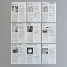 Braun product pamphlet set 7-16 ca 1960 via www.dasprogramm.org
