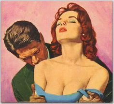 2564540_Image_4 (700x640, 109Kb) #erotica #alfred #james #portrait #pulp #vintage #painting #meese