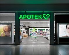 BVD: Apotek Hjärtat — Collate #bvd #pharmacy #branding #swedish