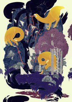Micah Lidberg   Few Gallery #illustration
