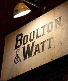 Boulton #typography