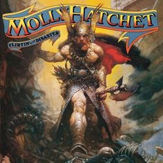 album-flirtin-with-disaster.jpg (JPEG Image, 500x500 pixels) #1970s #album cover #molly hatchet #frank frazetta