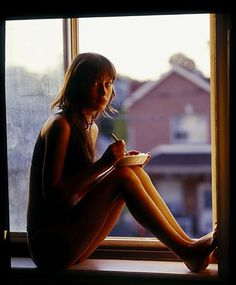FFFFOUND! | e-laboy's tumblr #window #photography #girl