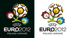Graphic Design and Web Design Network - UEFA Euro 2012 Logo Design & Branding Use #logo #design