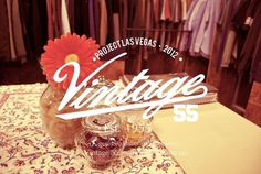 2012 Project_Las Vegas_Vintage 55 : Adrineh Asadurian #las #55 #project #2012 #graphic #vintage #vegas