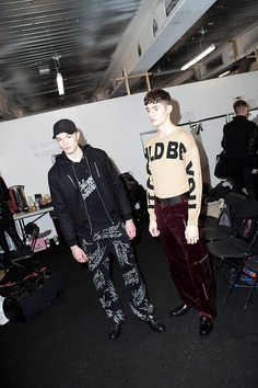 Blood Brother FW18 Backstage! - Fucking Young!