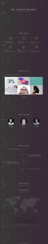 dark, web design, minimal, minimalist, layout, concept #layout #design #concept #minimal #web #minimalist #dark