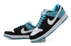 Nike Sb Low Mens Shoes Online Outlet Black Cyan