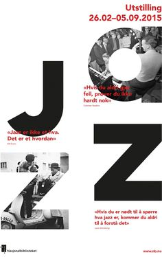 J A Z Z #inspiration #design #graphic #poster #typography