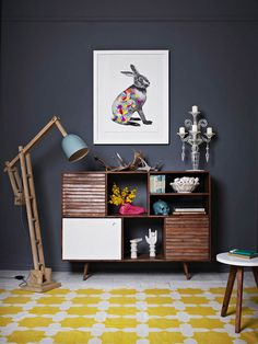 CJWHO ™ (Fenton and Fenton new rug designs) #crafts #design #interiors #illustration #handmade #art #rug #rabbit