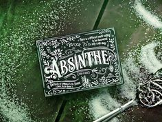 Absinthe Playing Cards by Mike Clarke #cards #decks #playing cards #hallucinating #trippy #fairy #green #liquor #prohibition #alcohol #absin