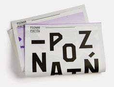 Poets in Poznan, newspaper submitted by Marcin Markowski and designed by Yo Studio (2013)–Type OnlyUnit Editions #type