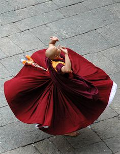 buddhism | Tumblr #monk #buddhism #photography #dance