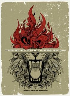 Kafka For Lovers #flame #lion #poster