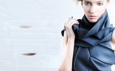 Miura Ori Scarf #fibonacci #diana #scarf #ori #miura #eng