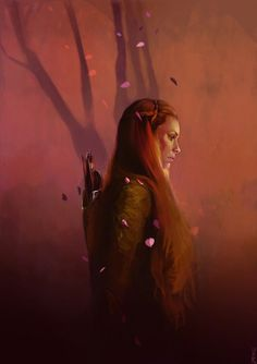 Tauriel by kittrose