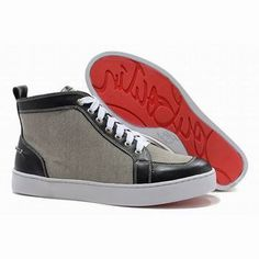 Navy White Christian Louboutin Rantus Orlato Men Red Sole Shoes #shoes
