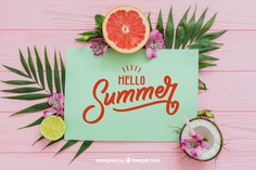 Tropical summer composition with paper Free Psd. See more inspiration related to Flower, Mockup, Floral, Party, Summer, Paper, Beach, Sun, Leaves, Fruits, Tropical, Holiday, Mock up, Coconut, Lemon, Palm, Decorative, Vacation, Wooden, Summer beach, Summer party, Aloha, Up, Beach party, Tropical flowers, Season, Hawaiian, Palm leaves, Grapefruit, Painted, Composition, Mock, Exotic, Summertime and Seasonal on Freepik.