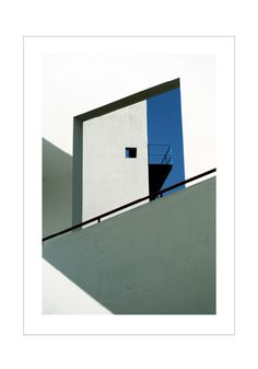 Shadows Of The Campus on Behance #lines #sky #composition #window #light #shadow