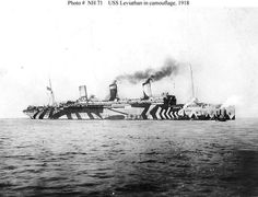 wwi razzle dazzle ship
