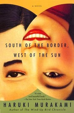 The Book Cover Archive: South of the Border, West of the Sun, design by John Gall #book cover archive