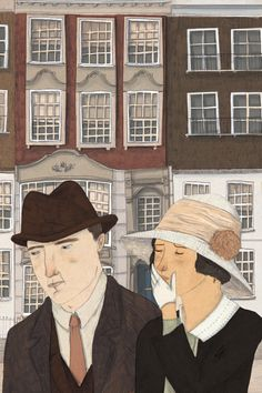 The Folio Society About Today Illustration by Lizzy Stewart #illustration