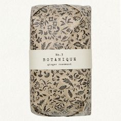 Botanique Ginger Rosewood #design #package