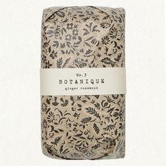 Botanique Ginger Rosewood #design #package