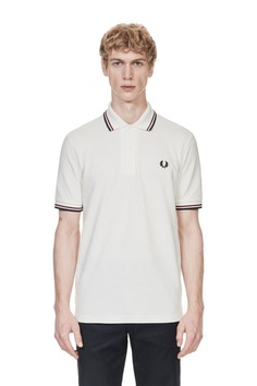 fred perry m12 - snow white