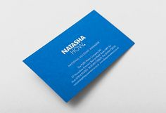 Print « An Ordinary Blogfolio #business #stationary #card #design #graphic #typography